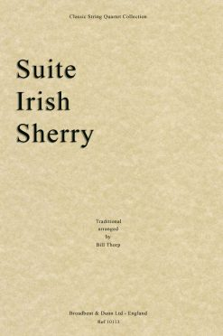 Traditional - Suite Irish Sherry (String Quartet Parts)