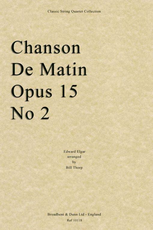 Elgar - Chanson De Matin