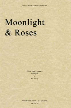 Lemare - Moonlight and Roses (String Quartet Score)