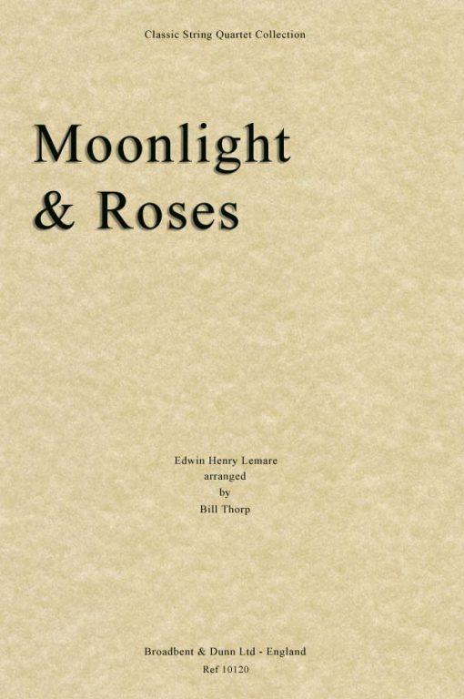 Lemare - Moonlight and Roses (String Quartet Score)