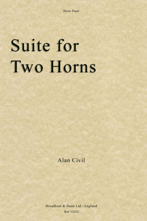 Alan Civil - Suite for Two Horns