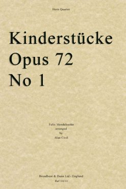 Mendelssohn - Kinderstà¼cke
