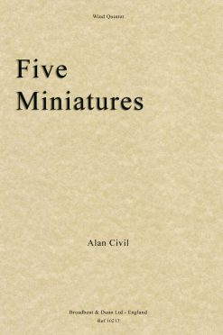 Alan Civil - Five Miniatures (Wind Quintet)