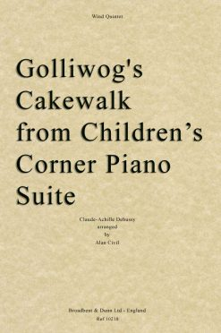 Debussy - Golliwog's Cakewalk from Children's Corner Piano Suite (Wind Quintet)