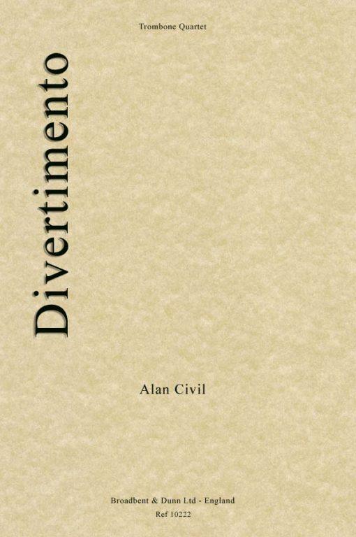 Alan Civil - Divertimento (Trombone Quartet)