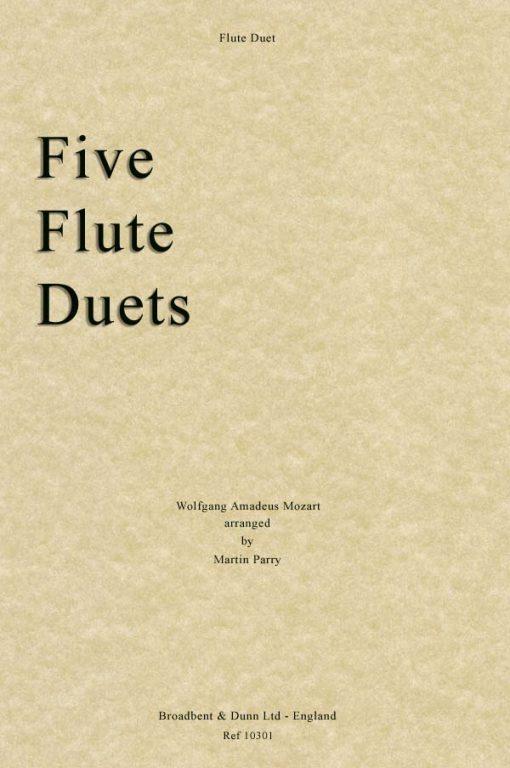 Mozart - Five Flute Duets