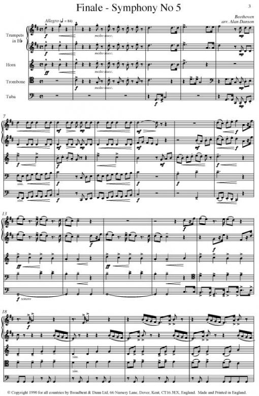 Beethoven - Finale from Symphony No. 5