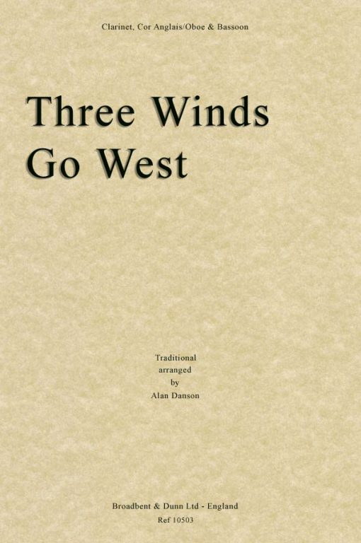 Traditional - Three Winds Go West (Clarinet