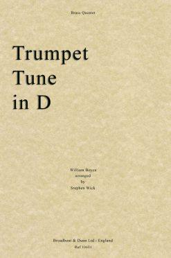 Boyce - Trumpet Tune in D (Brass Quintet)