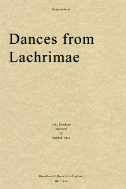 Dowland - Dances from Lachrimae (Brass Quintet)