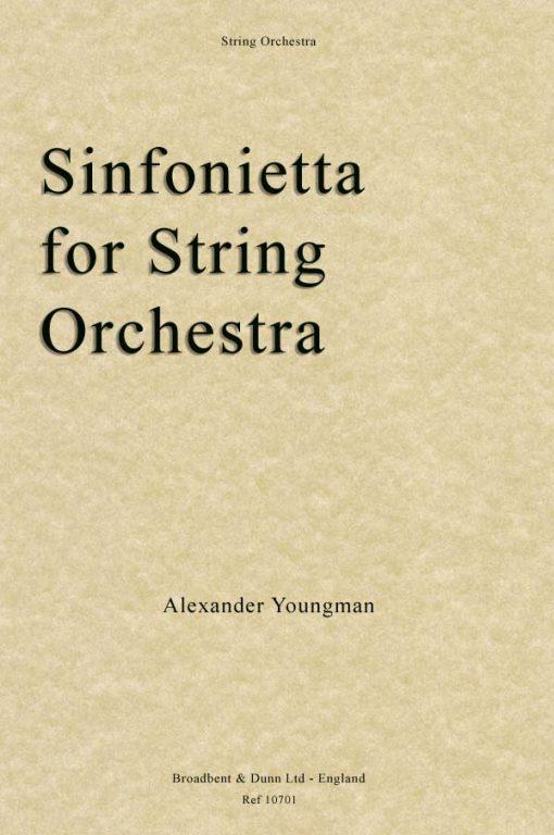 Alexander Youngman - Sinfonietta for String Orchestra (Score)