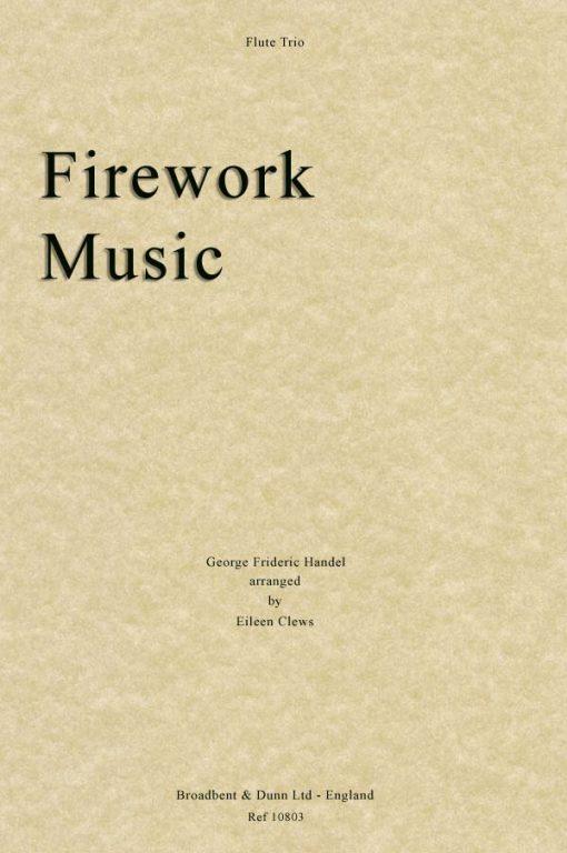 Handel - Firework Music (Flute Trio)