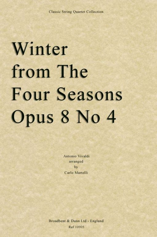 Vivaldi - Winter from The Four Seasons