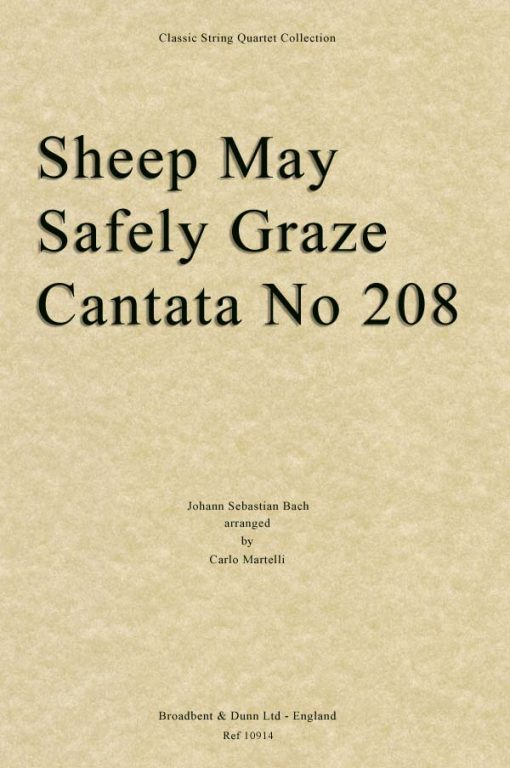Bach - Sheep May Safely Graze