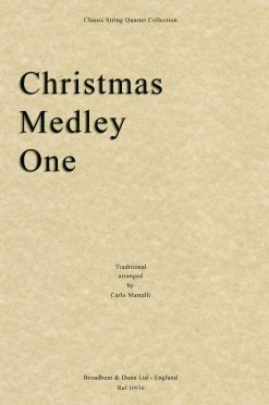 Traditional - Christmas Medley One (String Quartet Score)