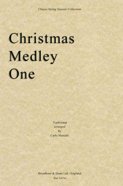 Traditional - Christmas Medley One (String Quartet Score)