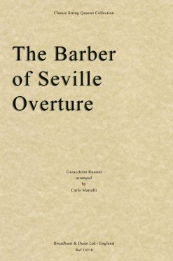 Rossini - The Barber of Seville Overture (String Quartet Score)
