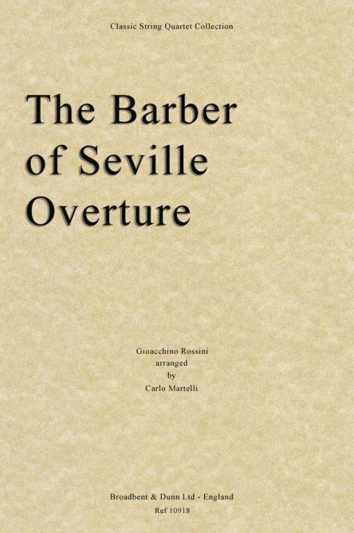 Rossini - The Barber of Seville Overture (String Quartet Score)