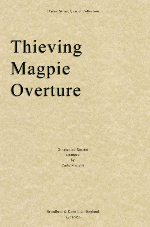 Rossini - The Thieving Magpie Overture (String Quartet Score)
