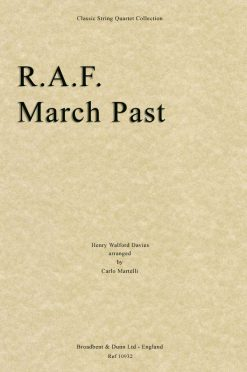 Davies - R.A.F. March Past (String Quartet Score)