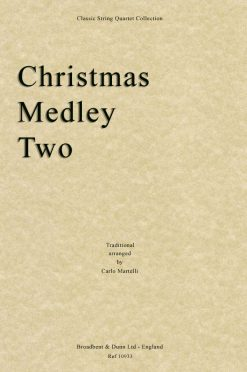 Traditional - Christmas Medley Two (String Quartet Score)