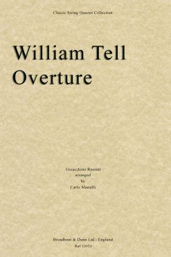 Rossini - William Tell Overture (String Quartet Parts)