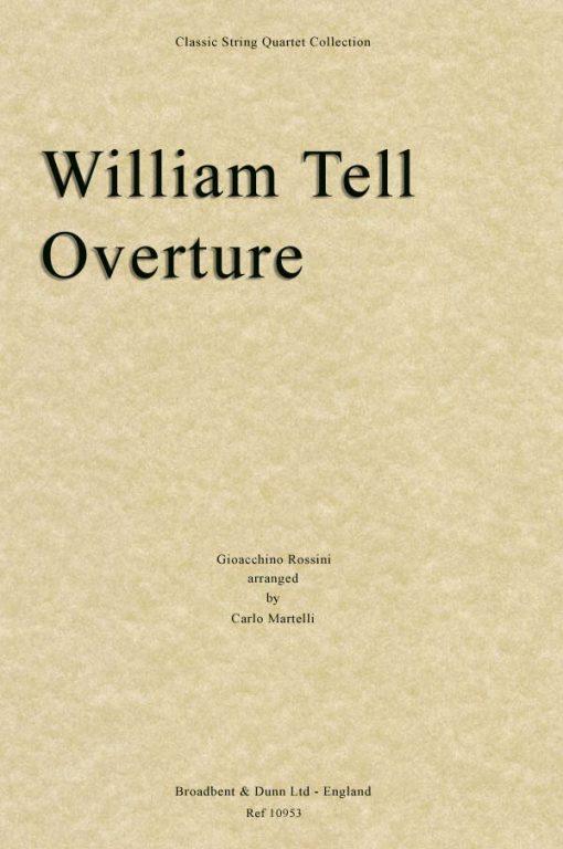 Rossini - William Tell Overture (String Quartet Parts)