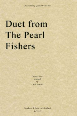 Bizet - Duet from The Pearl Fishers (String Quartet Score)