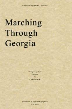 Work - Marching Through Georgia (String Quartet Score)