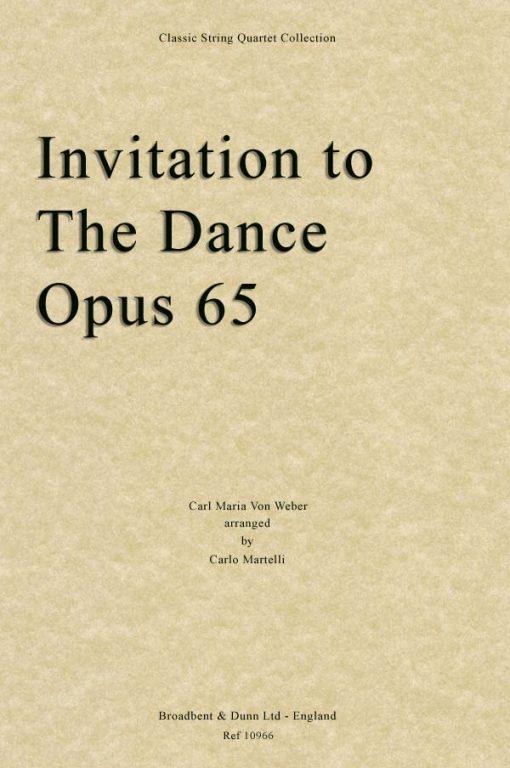 Weber - Invitation To The Dance
