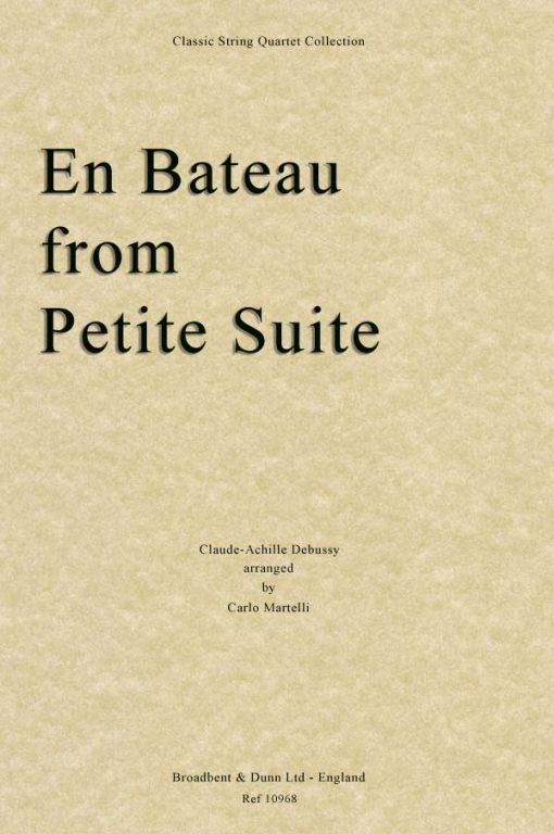 Debussy - En Bateau from Petite Suite (String Quartet Score)