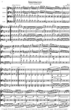 Bizet - Intermezzo and Adagietto from L'Arlésienne Suite (String Quartet Parts) - Parts Digital Download
