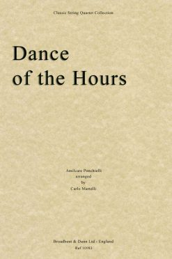 Ponchielli - Dance of the Hours (String Quartet Score)