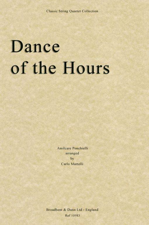 Ponchielli - Dance of the Hours (String Quartet Parts)
