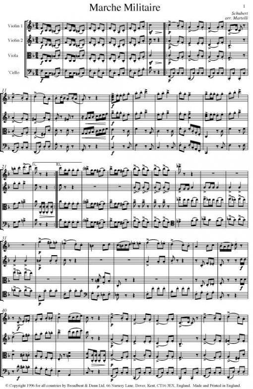 Schubert - Marche Militaire