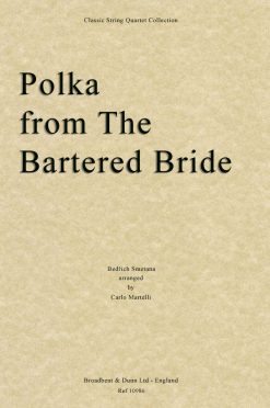 Smetana - Polka from The Bartered Bride (String Quartet Score)