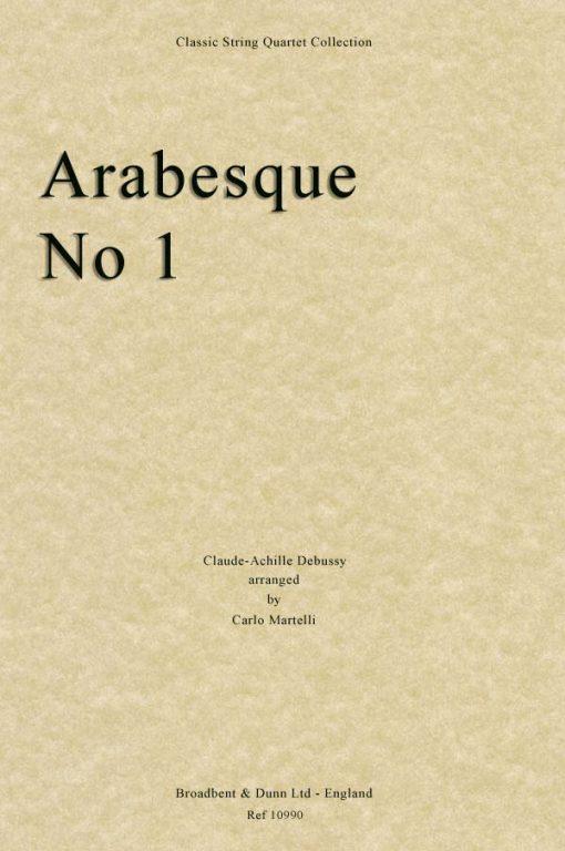 Debussy - Arabesque No. 1 (String Quartet Score)