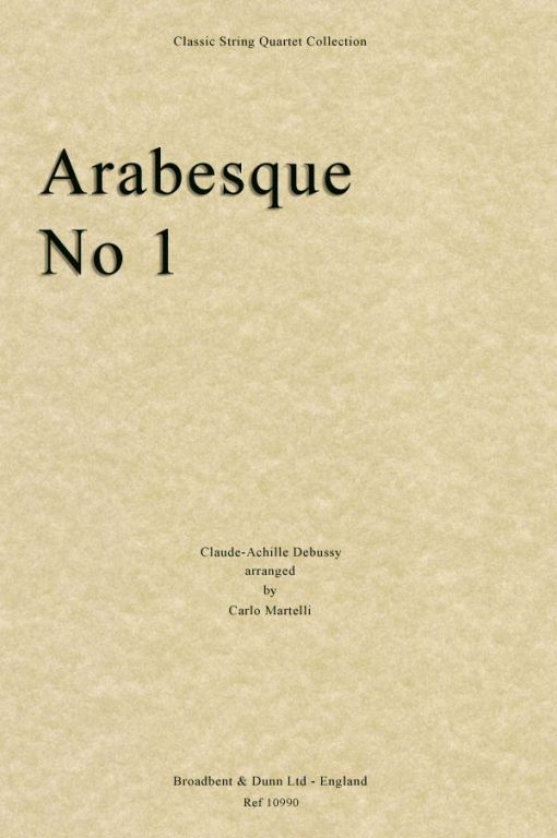 Debussy - Arabesque No. 1 (String Quartet Parts)