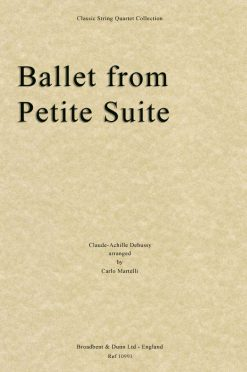 Debussy - Ballet from Petite Suite (String Quartet Score)