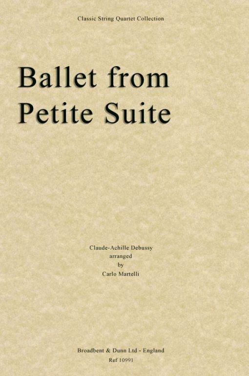 Debussy - Ballet from Petite Suite (String Quartet Score)