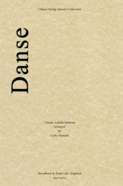 Debussy - Danse (String Quartet Parts)