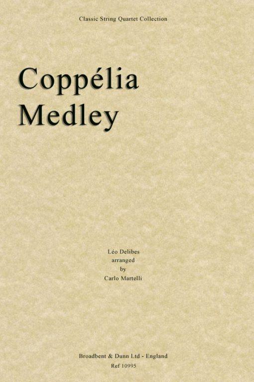 Delibes - Coppélia Medley (String Quartet Score)