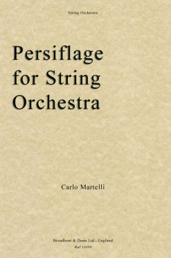 Carlo Martelli - Persiflage for String Orchestra (Score)