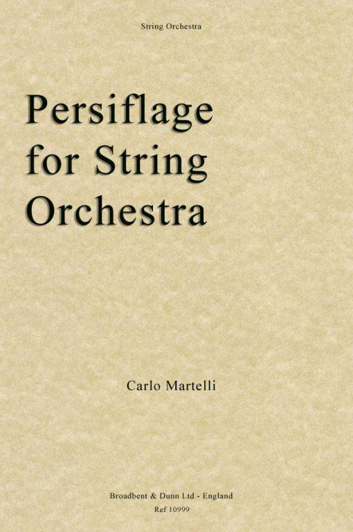 Carlo Martelli - Persiflage for String Orchestra (Score)