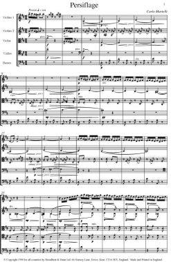 Carlo Martelli - Persiflage for String Orchestra - Second Violins Digital Download