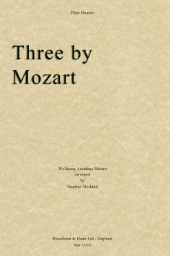 Mozart - Three by Mozart (Flute Quartet)