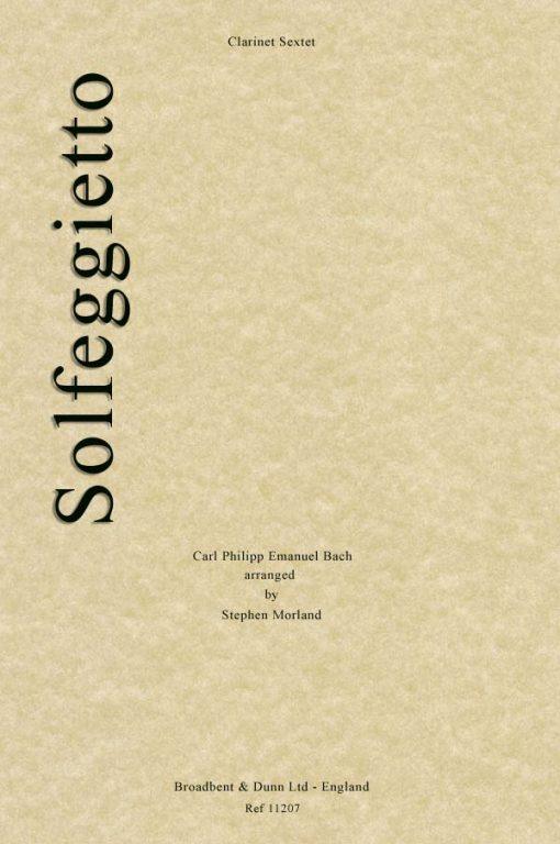 C. P. E. Bach - Solfeggietto (Clarinet Sextet)