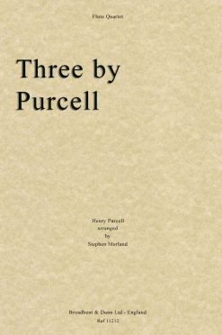 Purcell - Three by Purcell (Flute Quartet)