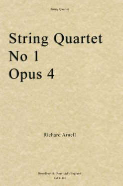 Richard Arnell - String Quartet No. 1