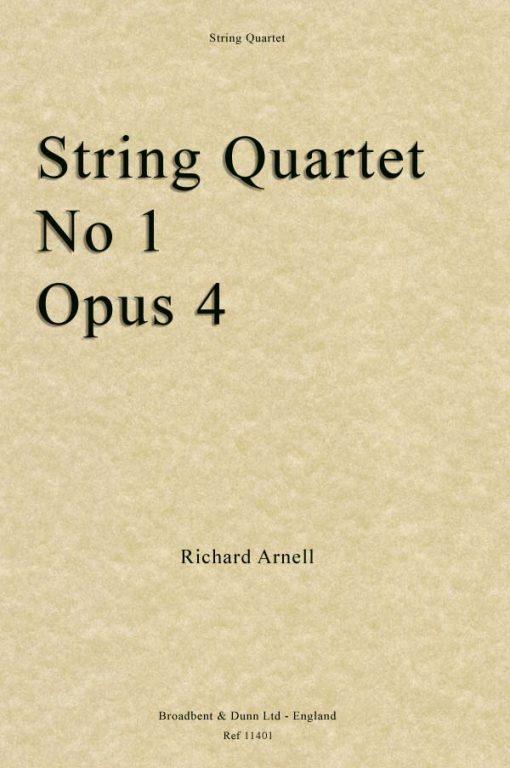 Richard Arnell - String Quartet No. 1